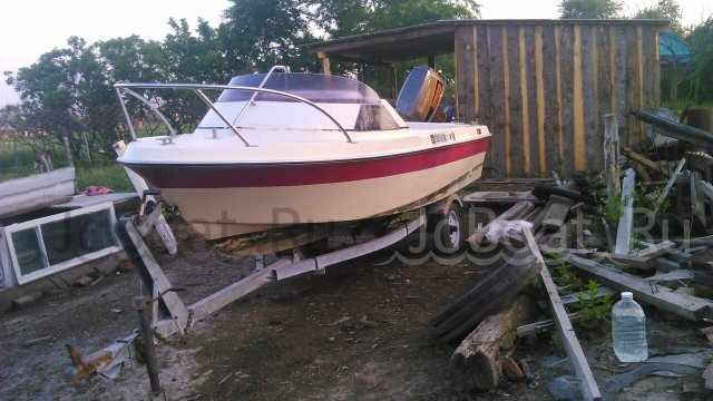 лодка пластиковая YAMAHA FISH-15 1997 года