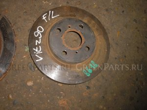 Тормозной диск на Toyota Vitz KSP90 1KR-FE 0035108