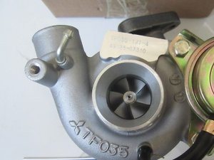 Турбина на Mitsubishi Challenger K97W, K97WG 4M40 TF035