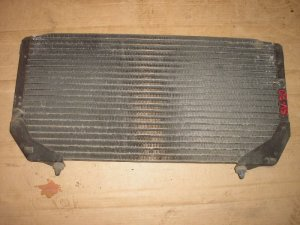 Радиатор кондиционера на Toyota Camry SV30 3S-FE 0987835