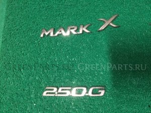 Эмблема на Toyota Mark X 120