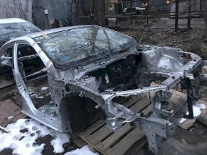 Порог на Toyota Corolla Axio NZE141 1NZFE 6142108