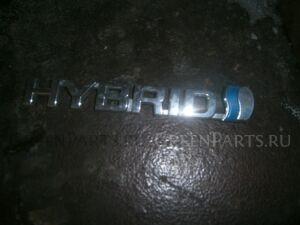 Эмблема на Toyota Harrier MHU38
