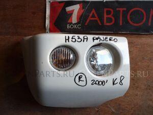 Клык бампера на Mitsubishi Pajero Mini H53A
