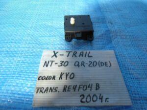 Сервопривод заслонок печки на Nissan X-Trail NT30 QR20DE 3J01030850