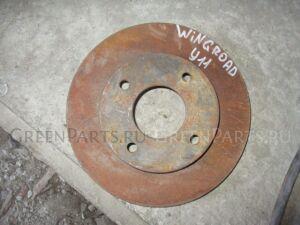 Тормозной диск на Nissan Wingroad Y11