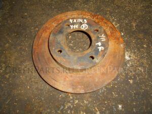 Тормозной диск на Nissan Wingroad WFY11
