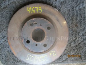 Тормозной диск на Toyota Ractis SCP100 2SZ-FE