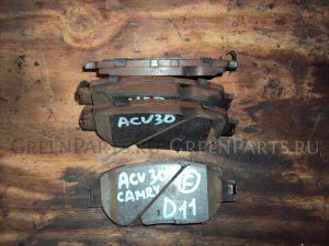 Тормозные колодки на Toyota Camry ACV30 2AZ FE