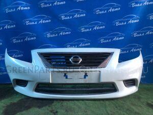 Бампер на Nissan Latio N17