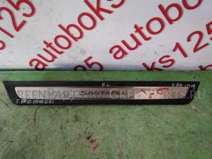 Накладка на порог на Hyundai Santa Fe DM D4HA 858742W500