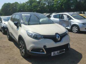 Радиатор кондиционера на Renault captur