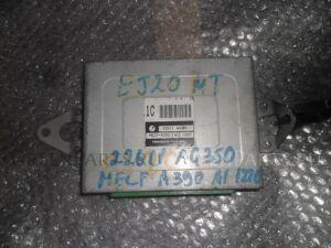 Блок efi на Subaru Forester SF5 EJ201 22611 AG350