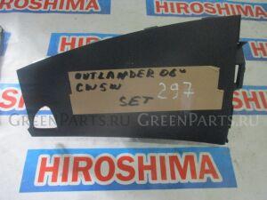 Подушка безопастности пассажирская на Mitsubishi Outlander CW5W без заряда