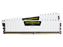 Модуль памяти Corsair Vengeance LPX White DDR4 DIMM 3200MHz PC4-25600 CL16 - 32Gb KIT (2x16Gb) CMK32GX4M2B3200C16W