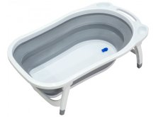 Ванночка складная Funkids Folding Smart Bath Grey CC6603