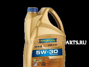Масло моторное DXG 5W-30 синтетическое; 5 л