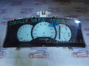 Щиток приборов на Toyota Corolla NZE121