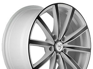 Диски NZ F50 8x18 5x114,3 ET 45 Dia 67,1 White black R18