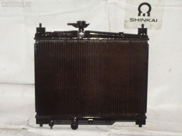 Радиатор двигателя на Toyota Vitz SCP13 2SZ-FE