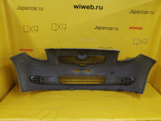 Бампер на Toyota Vitz SCP90