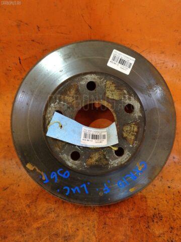 Тормозной диск на Toyota Estima Emina CXR10G 3C-T