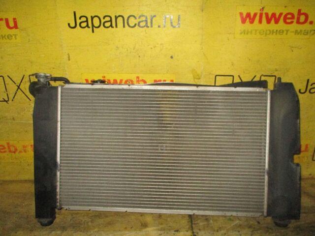 Радиатор двигателя на Toyota Corolla Spacio ZZE124N 1ZZ-FE