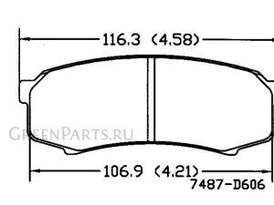 Тормозные колодки на Toyota Land Cruiser Prado KDJ150L 1KD-FTV
