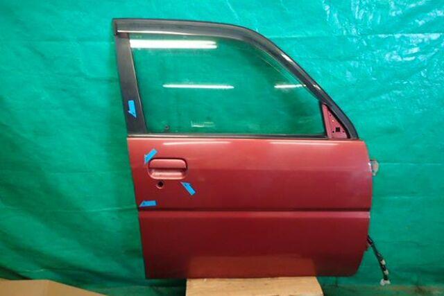 Дверь боковая на Subaru Pleo RA1 EN07Z
