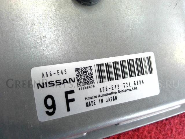 Блок efi на Nissan Note E11 HR15DE