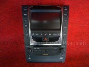 Автомагнитофон на Toyota LEXUS GS GRS191 2GR-FSE