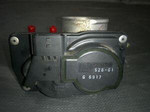 Дроссельная заслонка на Nissan Note E11 HR15DE