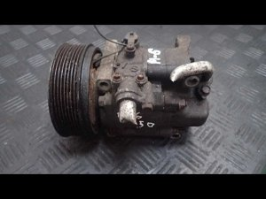 Компрессор кондиционера на Mazda 6 GG