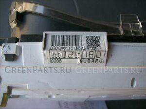 Панель приборов на Subaru Forester SH5