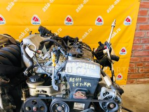 Двигатель на Toyota Corolla/Corolla Spacio AE110 4A-FE
