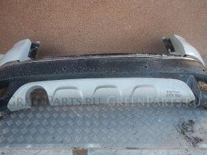 Накладка на бампер на Renault Kaptur