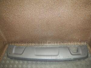 Накладка на бампер на Renault Duster