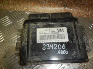 Блок управления двигателем на Chevrolet AVEO Т200