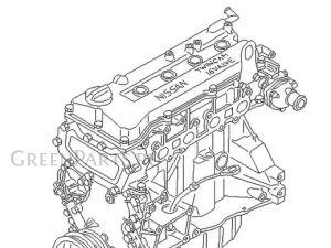 Двигатель на Nissan Cube Z10