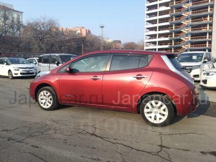 Ветровик дверной на Nissan Leaf во Владивостоке