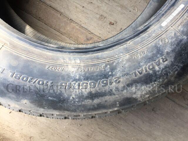 шины Bridgestone 215/65R15 летние
