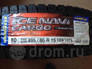 Шины Япония GoodYear Ice Navi Cargo 0/80R15 109107L зимние