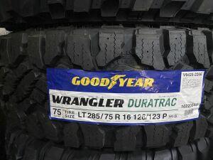 Шины Япония GoodaYear Wrangler Duratrak 285/75R16LT грязевые
