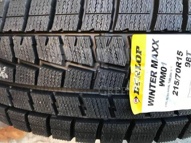 шины Япония Dunlop Winter Maxx WM01 215/70R15 зимние