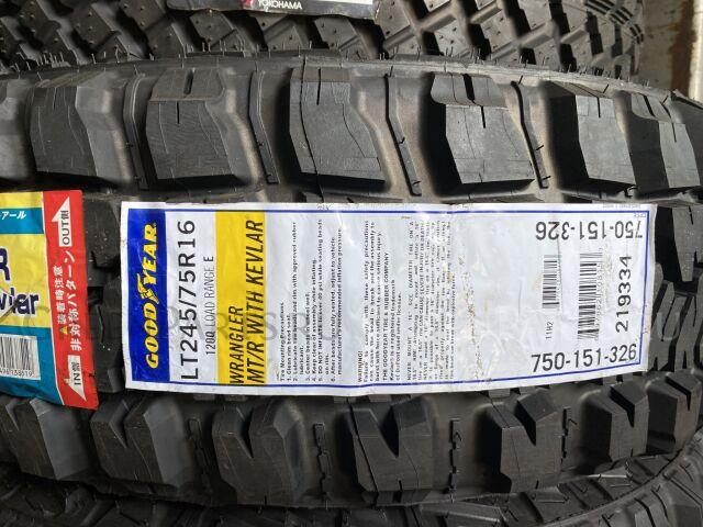 шины Америка Good Year Wrangler MTR Kevlar 315/75R16 грязевые