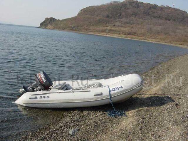 лодка пластиковая РИБ Бриг 360 2003 г.