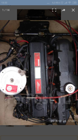 Двигатель на MERCRUISER