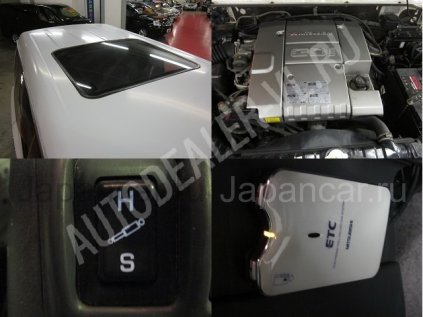 Mitsubishi Pajero 1999 года в Японии