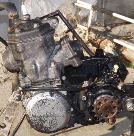 Двигатель на KAWASAKI KX250 - C1
