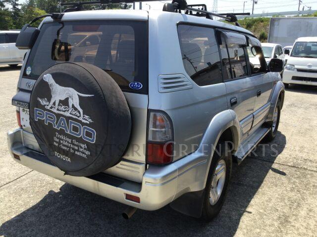 Бампер на Toyota Land Cruiser Prado KDJ95, KZJ95, RZJ95, VZJ95 1KZ, 1KD, 3RZ, 5VZ